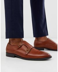 ASOS Monk Shoes - Brown
