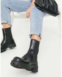 Vagabond Cosmo 2.0 Flat Ankle Calf Boot - Black