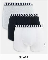 Hummel Classic 3-pack Boxer Shorts - Multicolour