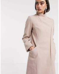 ASOS Cappotto elegante a portafoglio rosa