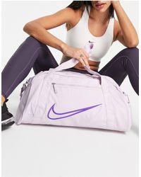 Nike Розовато-лиловая Сумка-дафл Club-фиолетовый Цвет - Пурпурный