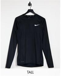 Nike Shift Dress with Lace - Black