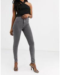 TOPSHOP Joni Skinny Jeans - Grey