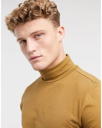 New Look Organic Cotton Long Sleeve Roll Neck - Multicolour