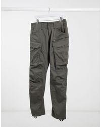 G-Star RAW Pantalones cargo tapered - Gris