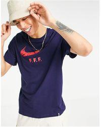Nike Football Euro 2020 - France FFF - T-shirt - Bleu marine