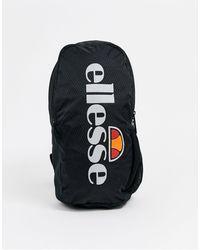 Ellesse Черная Сумка Со Светоотражающим Логотипом -черный