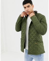 Barbour - Heritage Liddesdale Quilted Jacket In Olive - Lyst