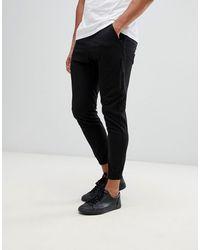 Religion Pantalons skinny style cargo - Noir
