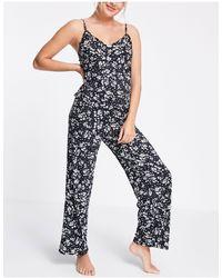 New Look Singlet & Pant Pyjama Set - Multicolour