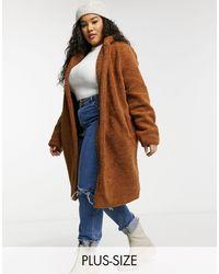 Brave Soul Istra Borg Overcoat-brown