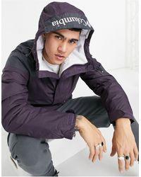 Columbia - Куртка-пуловер Фиолетового И Черного Цвета Challenger-фиолетовый Цвет - Lyst
