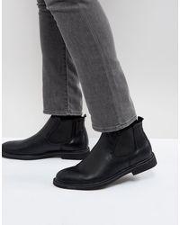 Brave Soul Chelsea Boots - Black