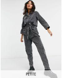 Noisy May Denim Jumpsuit - Black