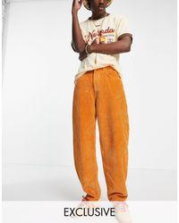 Reclaimed (vintage) Inspired - Jaren 90 Dad Jeans - Oranje