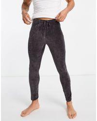 ASOS Lounge Pyjama meggings - Black