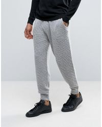 ASOS - Knitted Textured Joggers In Soft Yarn - Lyst