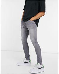 Criminal Damage – Core – e Skinny-Jeans - Grau