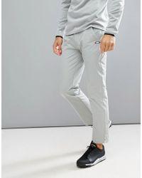Oakley - Golf Take Trousers Regular Fit In Light Grey - Lyst