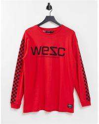 Wesc Camiseta - Rojo