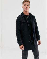SELECTED Trenchcoat - Zwart