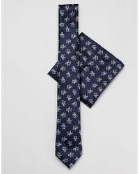 Original Penguin - Tie & Pocket Square Set - Lyst