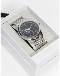 TOPMAN Mens Silver Watch - Metallic