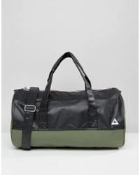 Le Coq Sportif - Khaki Weekend Barrel Bag - Lyst