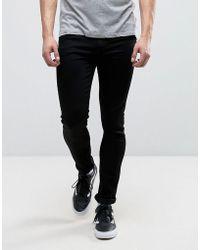 Carhartt WIP Super Skinny Trevor Jeans - Black