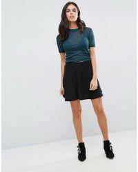 First & I - Skater Skirt - Lyst
