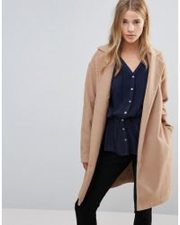 First & I - Belted Coat - Lyst
