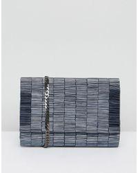 Coast - Navy Embellished Bag - Lyst
