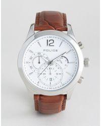 Police - Ohio Chronograph Watch - Lyst
