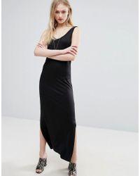 ADPT - Loop Maxi Vest Dress - Lyst
