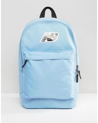 New Balance | Classic Logo Backpack In Blue | Lyst