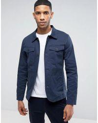 Casual Friday Harrington Jacket - Blue