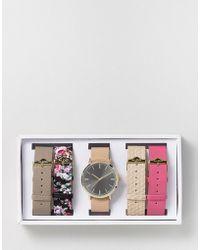 ALDO Perucca Multi Strap Watch - Pink