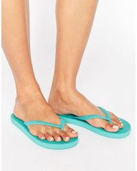 Billabong - Carribean Blue Flip Flops - Lyst