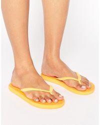 Billabong - Sunlight Mango Flip Flops - Lyst