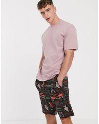 ASOS Lounge Pyjama Shorts - Pink
