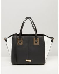 Lipsy - Mono Winged Tote Bag - Lyst