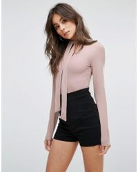 Fashion Union - Long Sleeve Body - Lyst