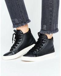 Vero Moda - Hitop Sneaker - Lyst