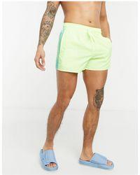 adidas Originals - Adidas 3 Stripe Swimming Trunks - Lyst