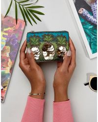 New Look - Pineapple Embellished Coin Purse - Lyst