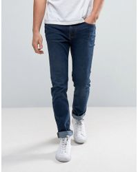 WÅVEN - Slim Fit Jeans In Artisan Blue - Lyst