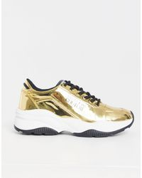Versace Jeans Couture Chunky Sneaker - Metallic