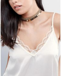 ALDO | Star Coin Choker Necklace | Lyst