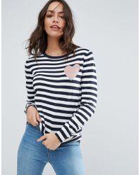 Sugarhill - Stripe Love Sweater - Lyst