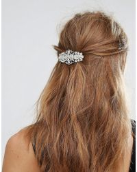 New Look - Jewelled Hair Clip - Lyst
